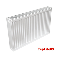 Радіатор TepLife89 тип KV 22х500х1400 (2730 Вт) з нижнім зв'язок. (Україна)