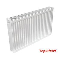 Радіатор TepLife89 тип KV 22х500х1600 (3120 Вт) з нижнім зв'язок. (Україна)
