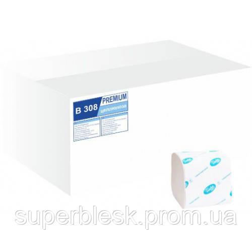 Туалетная бумага листовая, 2 слоя, 226 листов