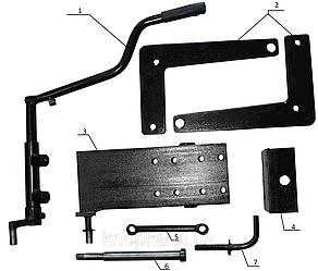 Задний подъемный механизм для минитрактора 5б