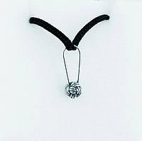 Кулон серебрянный Веревочный узел Rope Knot Rock Empire, фото 1