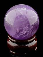 046422 Шар Аметист 52х52мм.  шарик из натурального камня