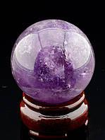 046421 Шар Аметист 55х55мм.  шарик из натурального камня
