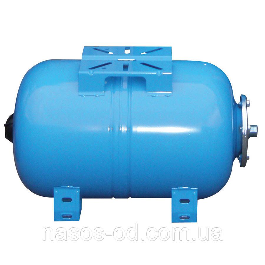 Гидроаккумулятор для воды Aquasystem VAO 50 (Италия) 50л (горизонтальный)
