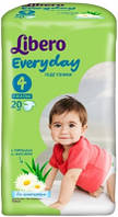 "Підгузки Libero Everyday Natural ""4"" Maxi 42 (7-18kg)"