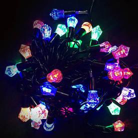 Гирлянда Кристалл на елку 40 LED, 5 м, светодиодная гирлянда