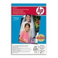 Фотобумага матовая HP 10x15cm Premium Plus Photo Paper, Satin-Matt, (100л/упак.) 280g/m2