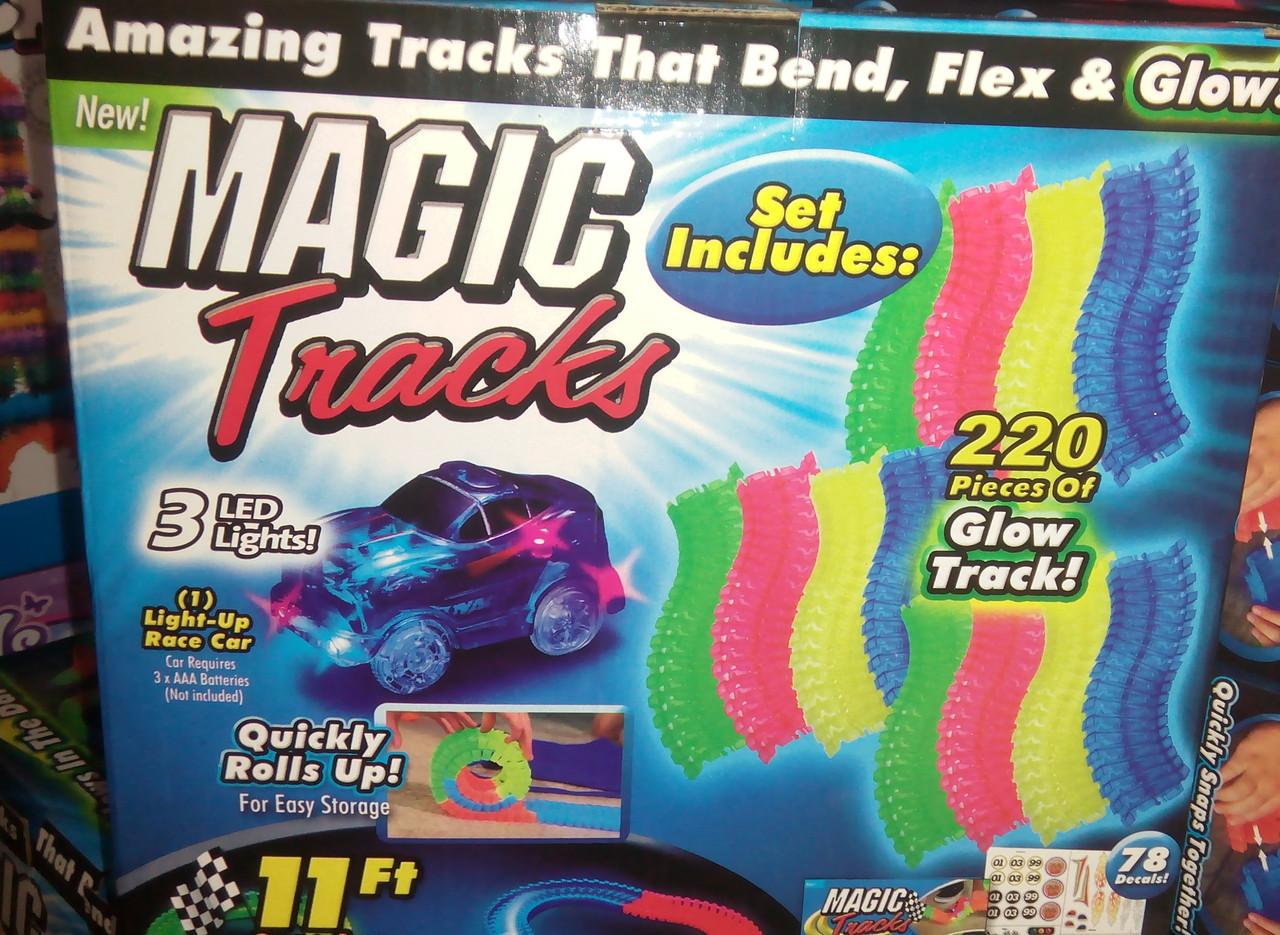 Светящийся трек. Magic Tracks