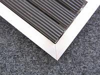 Придверная решетка «Лен» наполнение (резина+резина+скребок)