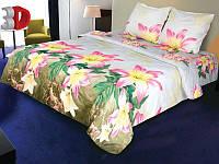 Постельное белье евро размера 176 «Сэлин» 3D на двуспальную кровать