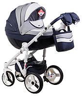 Универсальная коляска 2в1 Adamex Monte Carbon Deluxe D103