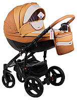 Универсальная коляска 2в1 Adamex Monte Carbon Deluxe D104
