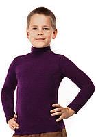 Гольф детский теплый кашемир размер универсал 04 фиолетовый СП