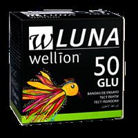 Тест-полоски для измерения уровня глюкозы Wellion LUNA Duo (Австрия) 50 штук в упаковке