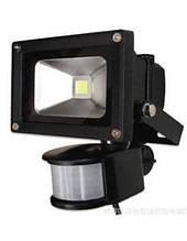 Светодиодный прожектор Biom SMD-10-Slim + sensor