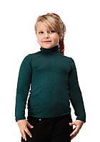 Гольф детский теплый кашемир размер универсал 03 морская волна СП