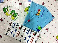 Пеленка фланелевая цветная в ассортименте для мальчиков и девочек