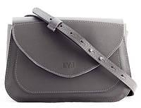 Женская мини-сумка  LEVEL LOBE Kaiser 07620129k серый