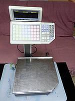 Весы чекопечатающие Штрих принт 15-2,5 бу., весы торговые купить бу, фото 1