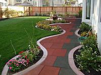 Плитка для садовых дорожек