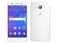 "Смартфон HUAWEI Y3 2017 Dual Sim WHITE белый (2SIM) 5"" 1/8 GB 2/8 Мп 3G оригинал Гарантия!"