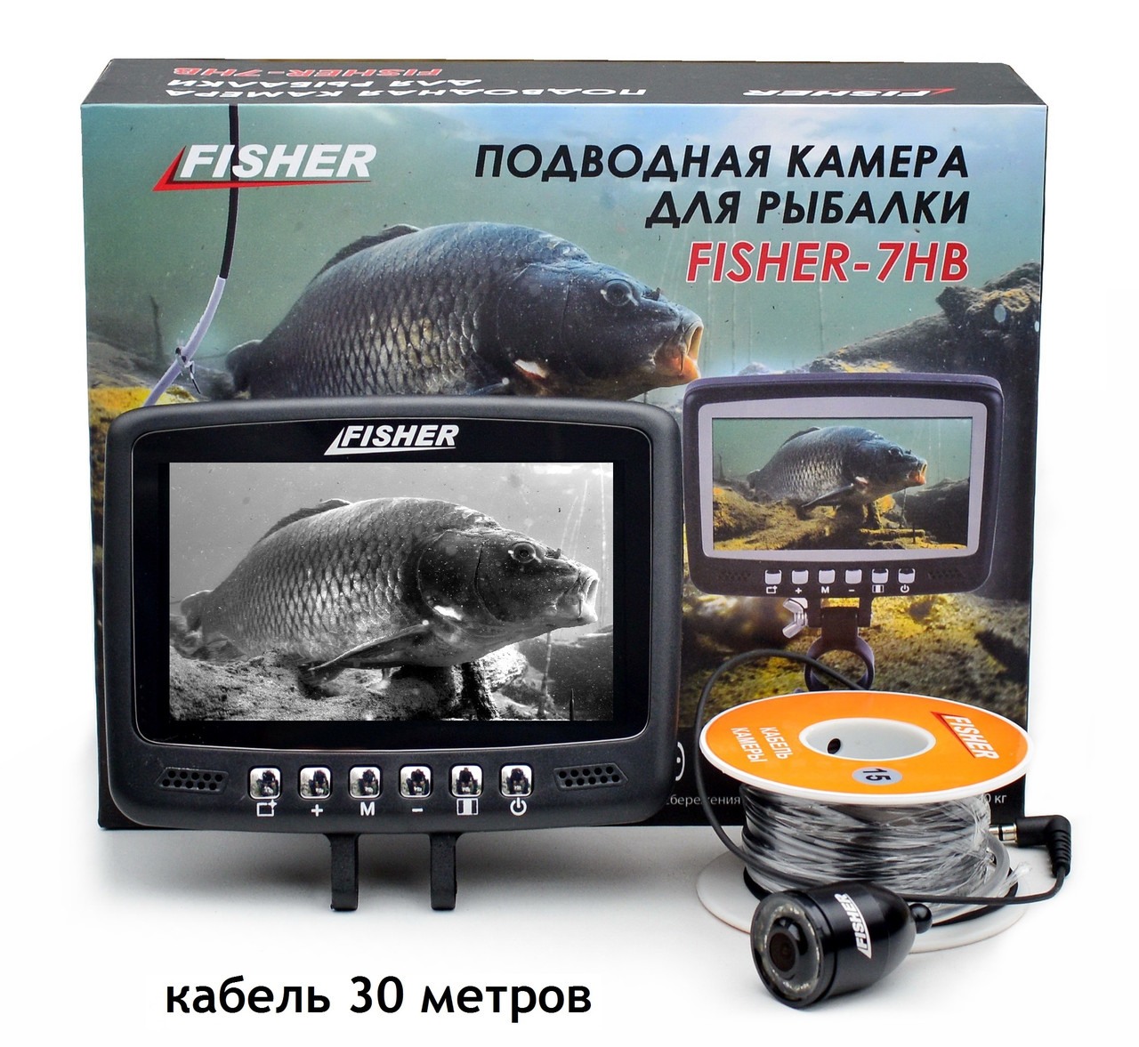 Подводная камера Fisher CR110-7HB кабель 30м