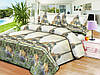 Двуспальное постельное белье 191 «Шанель» 3D