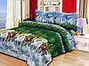 Полуторное постельное белье 197 «Прерия» 3D
