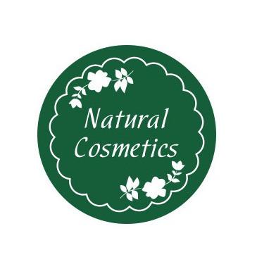 "Наклейка ""Natural cosmetics"", 5 шт."