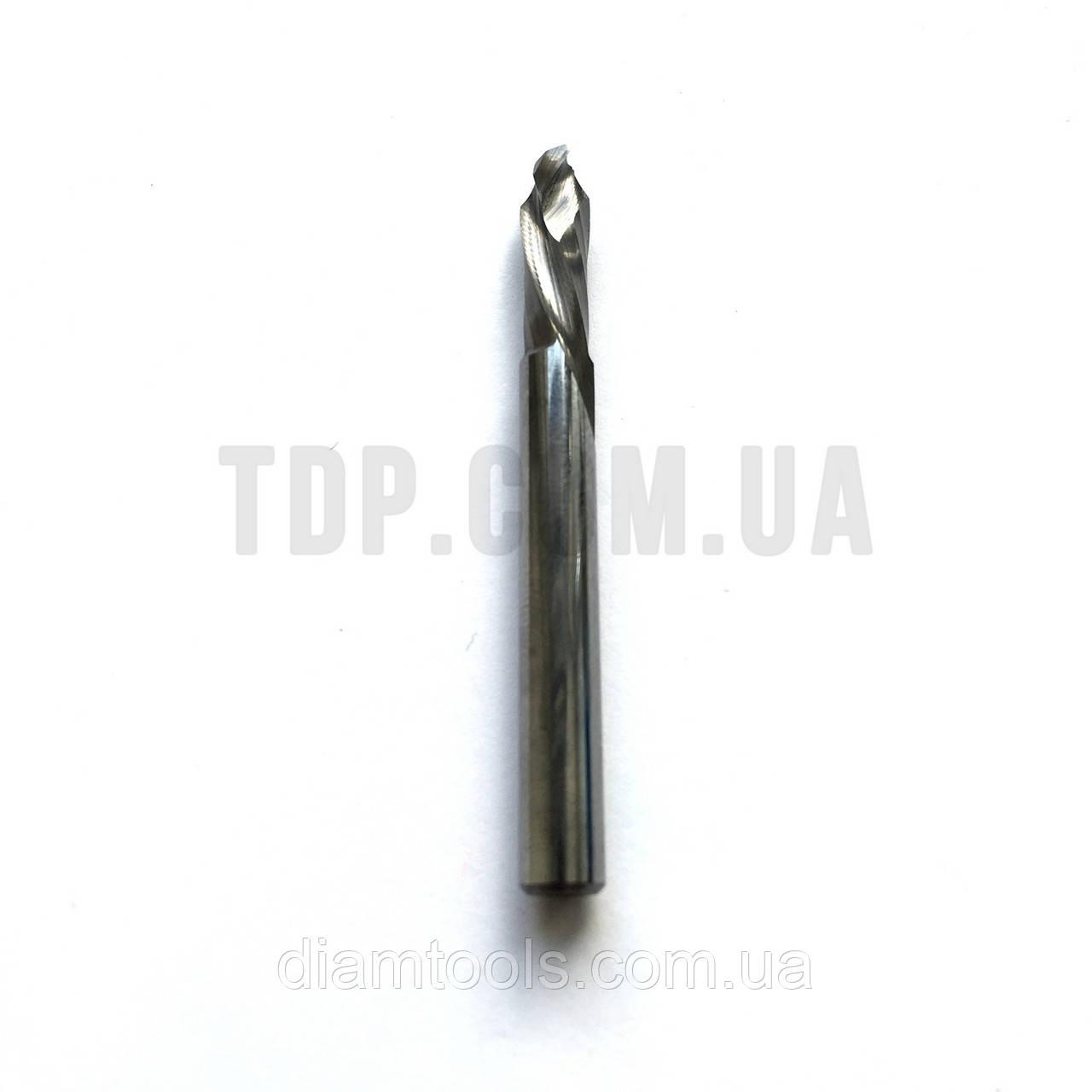 Фреза компрессионная с покрытием D3 d3 L40 l12 - 2 зуба