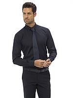 Мужская рубашка черная LC Waikiki/ЛС Вайкики