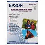 Фотобумага Epson A3 Premium Glossy Photo Paper, глянц., 20л. 255 г/м2