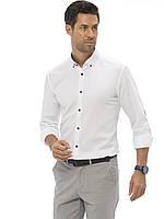 Белая рубашка LC Waikiki/ЛС Вайкики с серыми пуговицами