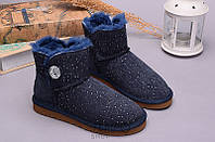 Угги UGG Bailey Button Mini BLING CONSTELLATION Navy, 36-40