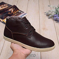 Угги UGG Kramer Leather Chocolate, 41-47