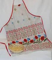Набор для кухни. Фартук, прихватка, рукавичка, полотенце. В асортименте.