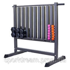Подставка под гантели для фитнеса на 80 шт RK2506L