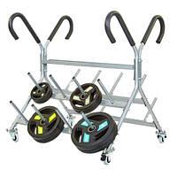 Подставка (стойка) для штанг фитнес памп RK4060E