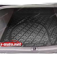 Пластиковый коврик в багажник для Audi A6 (4F,C6) (седан) 2004-2011