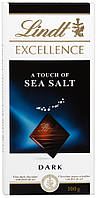Французский Шоколад Lindt Еxcellence с морской солью 50% 100 грамм