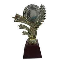 Статуэтка Венок со звездой 12см с деревянной основой 60*40мм