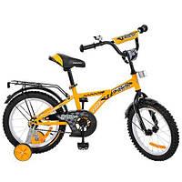 """Двухколесный велосипед Profi Racer 16"""" (G1634) с металлической рамой"""