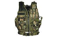 Жилет тактичний Leapers (камуфляж), фото 1