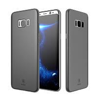 Защитный чехол от Baseus для Samsung Galaxy S8 Plus Smog Black - Надёжная защита толщиной всего 0,4мм!