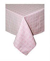 Скатерть из хлопка Прованс by AndreTAN розовая клетка
