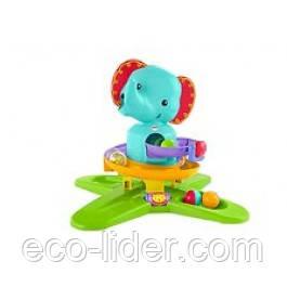"""Музыкальный игровой набор """"Слоненок с шариками"""" Fisher-Price"""