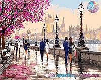 Картина раскраска по номерам Романтический вечер 50х40см с подрамником
