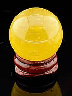 046845 Шар Цитрин 36х36мм.  шарик из натурального камня