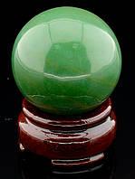 046411 Шар Нефрит 49х49мм.  шарик из натурального камня