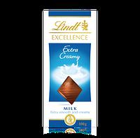 Французский Шоколад Lindt Еxcellence Extra Creamy молочный100 грамм
